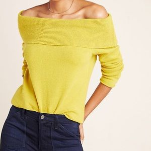 Anthropologie Shelby Pullover  in Dark Yellow |  S